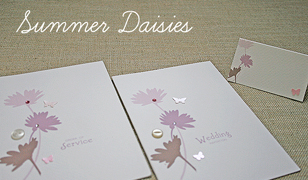 Summer Daisies Wedding Invitations