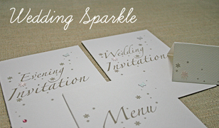 Wedding Sparkle Wedding Invitations