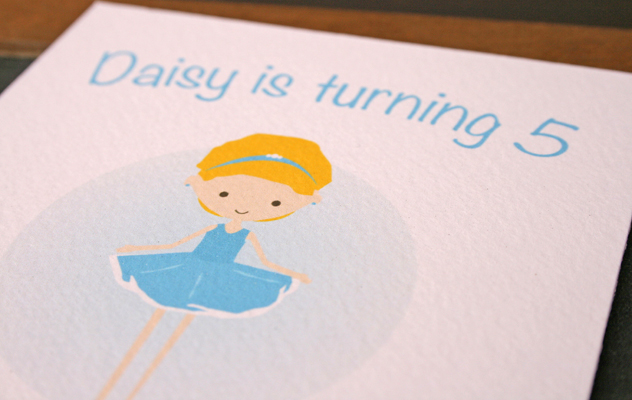 Daisy's Party invitations