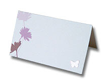 summer daisies place card pretty floral design