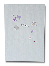 butterfly and button menu purple butterflies